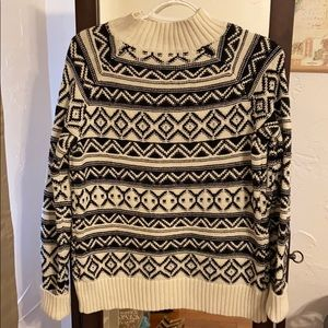 Chaps patterned sweater